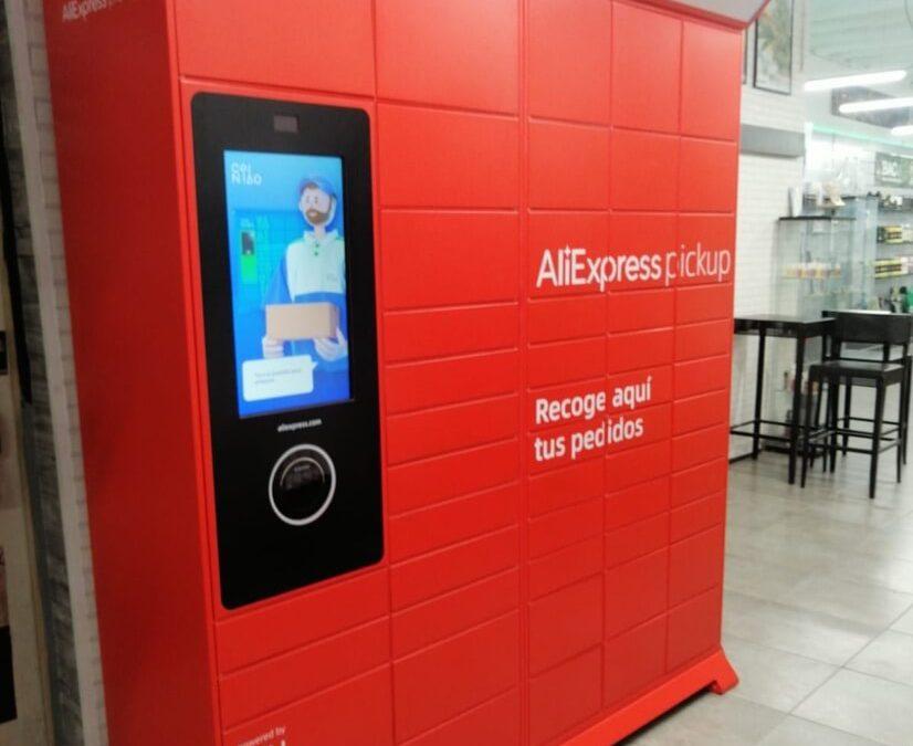 AliExpress lança serviço de lockers em Espanha
